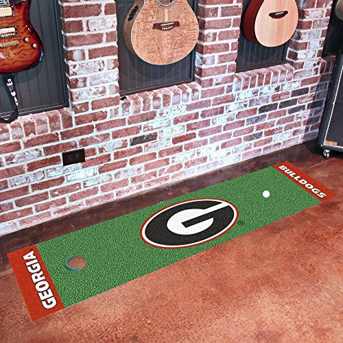 University of Georgia Putting Green Mat for Golf Fans