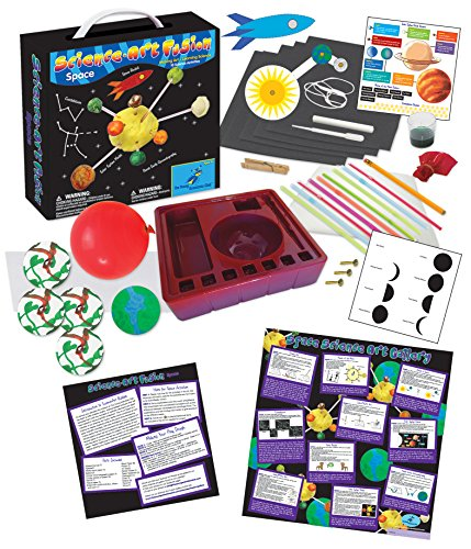 The Young Scientists Club Science Art Fusion Space (Space Science Kits)