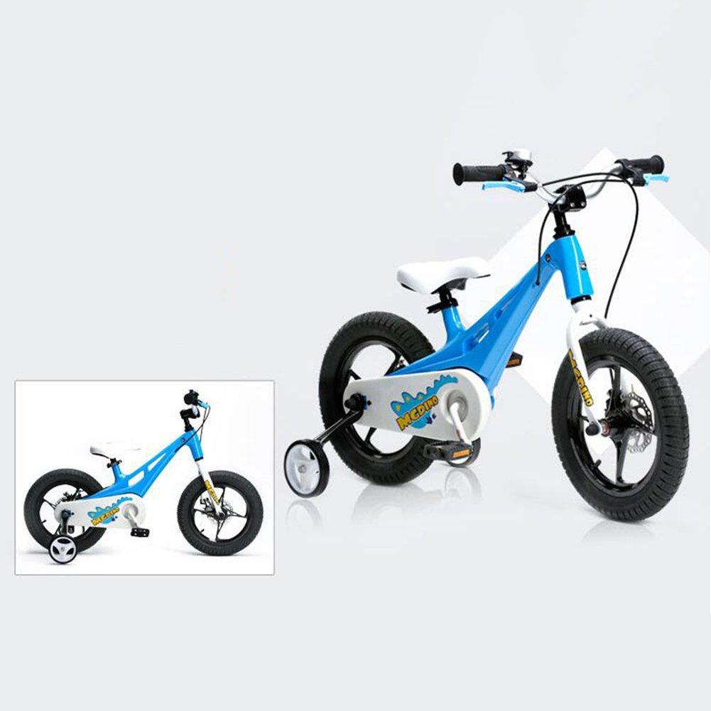 XQ TY-113子供用自転車5-13歳の少年少女マグネシウム合金キッズ自転車安定した耐衝撃性のあるピアノ塗料の安全性 子ども用自転車 ( 色 : 青 ) B07CG2RT4T青