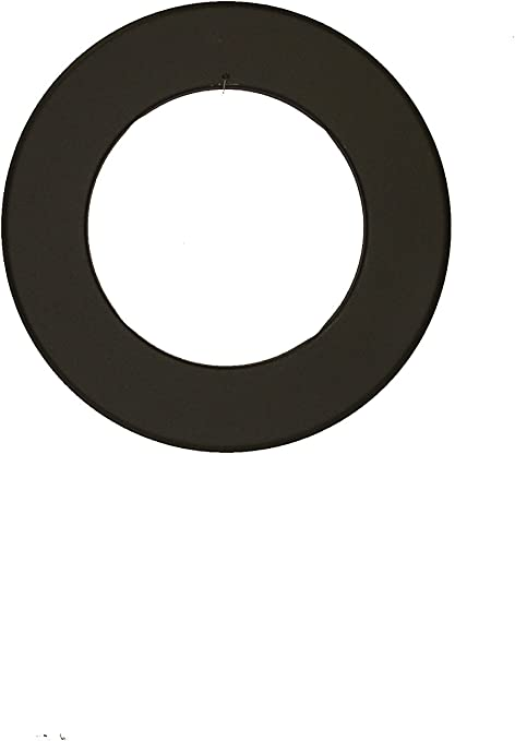 Ofenrohr Rauchrohr Rosette gussgrau Ø160mm