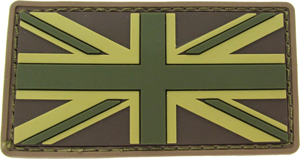 MILSPEC MONKEY BRITISH FLAG PVC MULTICAM PATCH Mil-Spec Monkey