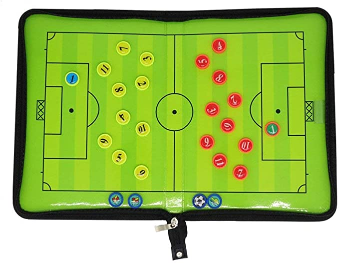 perfetto per calcio tattica tavole Ufficio Lavagna Carte /& Lavagne magnetiche Frigoriferi 26/pezzi Mini magnetico