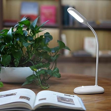 GYMTD Lámpara de Mesa LED de Aprendizaje Recargable Lámpara de ...