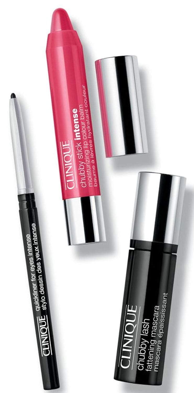 scomparire bagliore Maligno  Amazon.com : Clinique Getaway Brights Lip and Eye Makeup Set ...