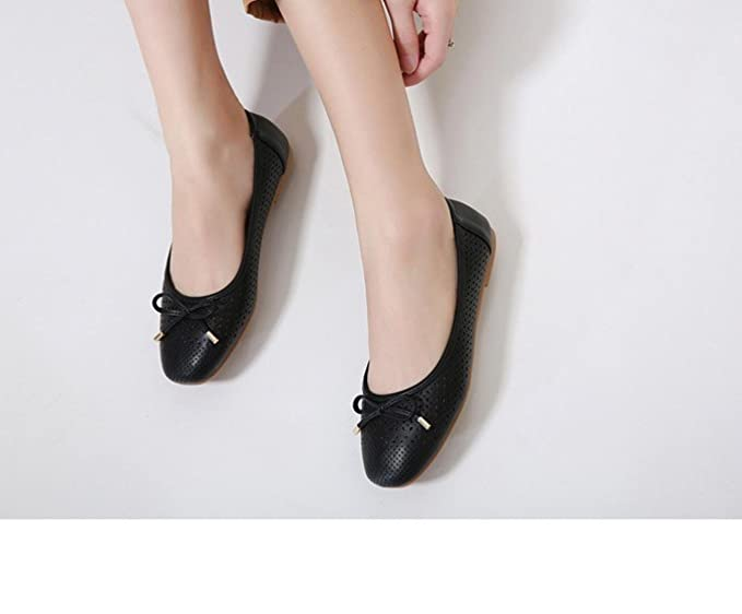 Women PU Leather Shoes Summer Women Flats Soft Casual Shoes Breathable  Loafers