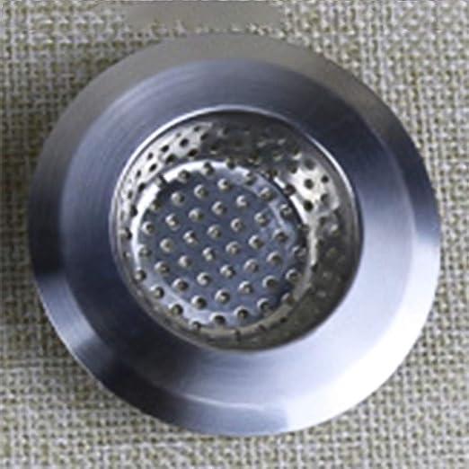 Xiangscz - Filtro de desagüe para Fregadero (Acero ...