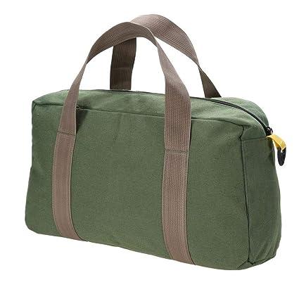 f7812fa234a3 Amazon.com: Akozon Canvas Bag, Hand Held Portable Kit Bag Big Size ...