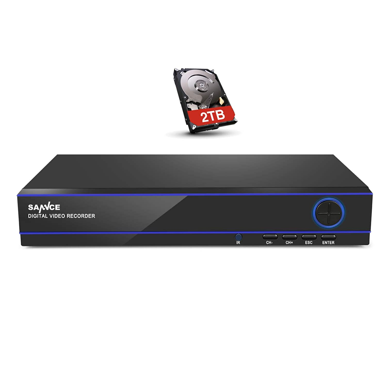 激安大特価! SANNCE(センス) B07F1TXDLZ 16CHデジタルレコーダー 1080N AHD/CVI/TVI AHD/CVI/TVI/CVBS/IP/CVBS/IP 5-in-1防犯レコーダー防犯カメラ 2TB 監視カメラに対応 H.264録画機遠隔監視 P2P機能搭載 日本語システム HDD 2TB B07F1TXDLZ, キッチン雑貨の店 ラクチーナ!:c9e80af4 --- martinemoeykens-com.access.secure-ssl-servers.info