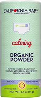 product image for California Baby Calming Organic Powder (2.5oz) Our talc-free, vegan, certified organic powder is safe for all ages and doesn't have the same health concerns as traditional talcum-based powder.