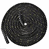 Goplus 1.5'' 40ft Poly Dacron Battle Rope Exercise Workout Strength Training Undulation