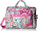 Vera Bradley Iconic Grand Weekender Travel Bag, Signature Cotton, Wildflower Paisley