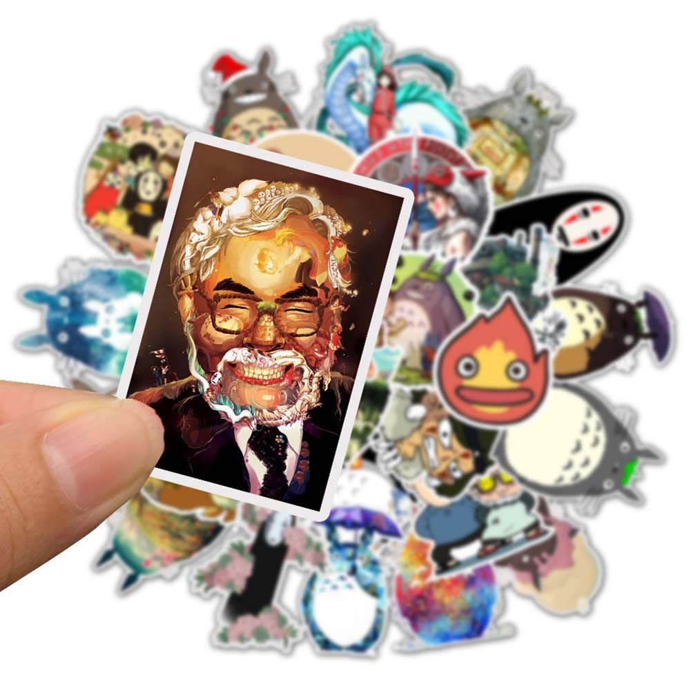 Beautymei Anime Cartoon Bumper Patches Decals Car Stickers Motorcycle Bicycle Skateboard Luggage Phone Pad Laptop Stickers 50Pcs