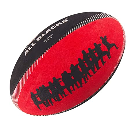 GILBERT Ballon de rugby SUPPORTER - All Blacks - Taille Midi ...