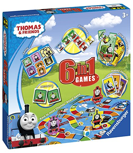 Ravensburger Thomas & Friends, 6 in 1 Games