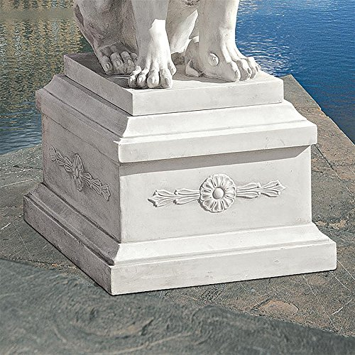 Cheap Design Toscano 13 in. Base for Lion of Florence Statue