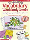 The Best-Ever Vocabulary and Word Study Games, Lorraine Hopping-Egan, 0439138442