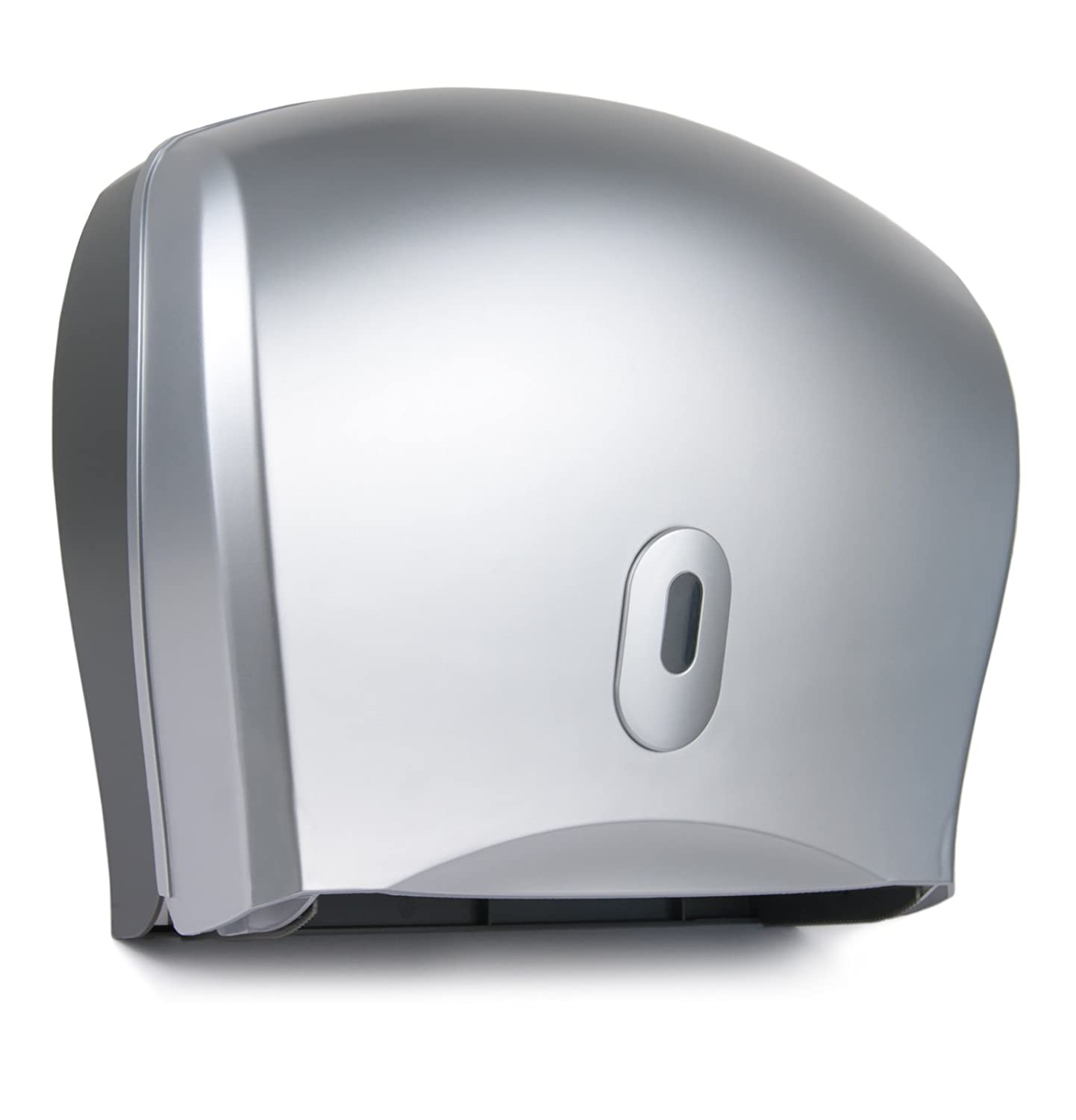 Washroom Hub Mini Jumbo Toilet Roll Dispenser - Duo Paper Holder - Commercial Bathroom