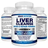 Liver Cleanse Detox & Repair Formula – 22 Herbs Support Supplement