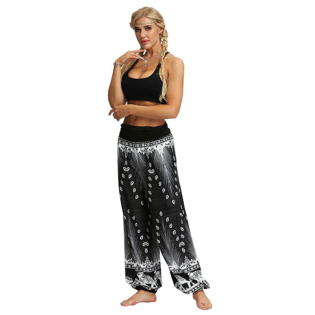Pantalones Mujer Verano 2019 Largos Hombres Mujeres Casual Sueltos Hippy Yoga Baggy Boho Aladdin