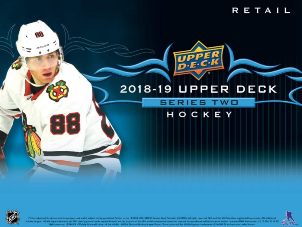 2018-19 Upper Deck Series 2 Hockey 12ct Blaster Box