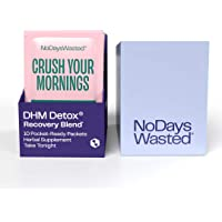 DHM Detox® - No Days Wasted® - New Look - Dihydromyricetin (DHM Supplement), Milk Thistle, Prickly Pear, B Vitamins…