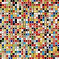 Multi Colored Ceramic Mosaic Small Square Porcelain Tile TA401