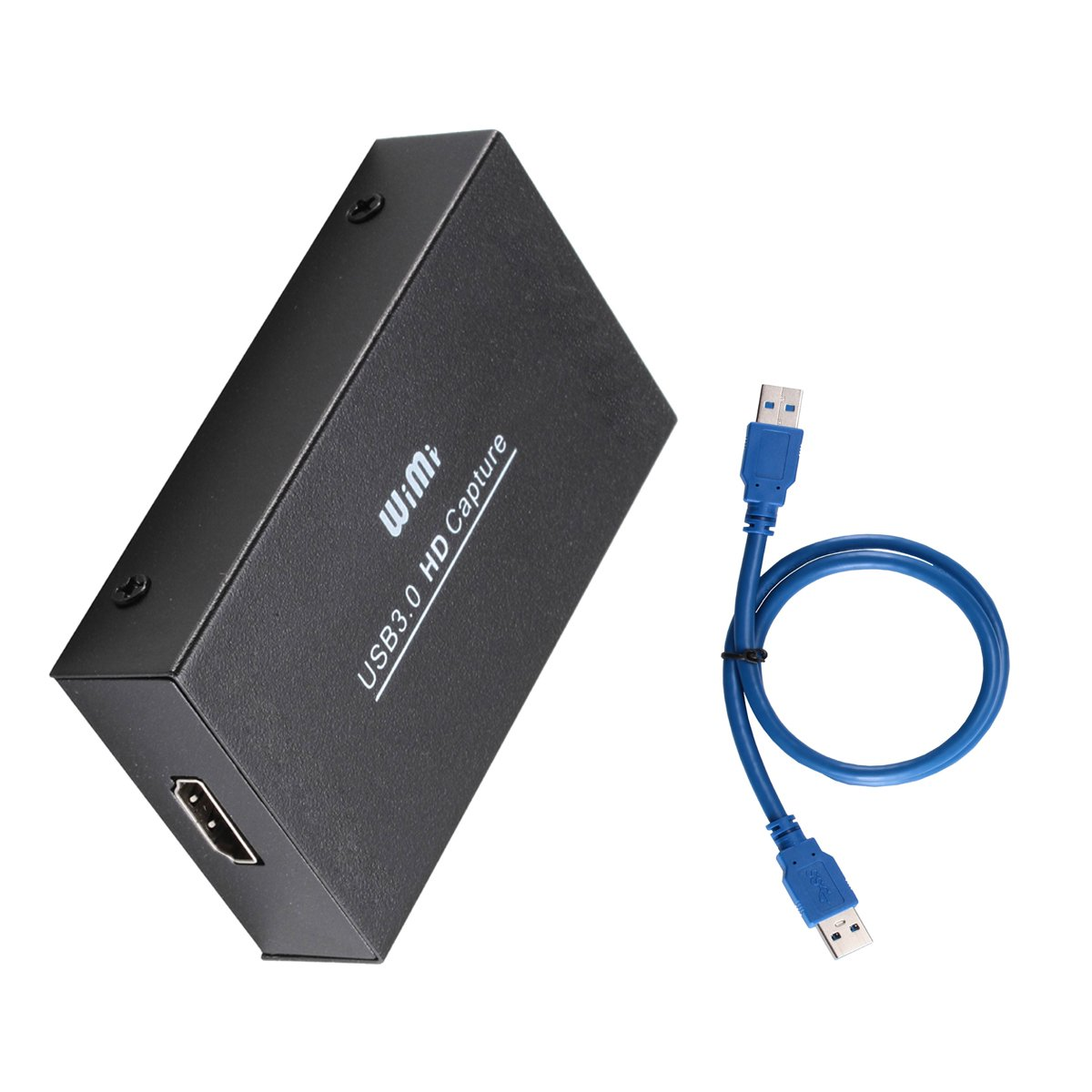 Sourcingbay HDMI USB3 0 Video Game Capture Full HD 1080P Video Audio HDMI  to USB Converter, No-Driver, Support OBS/Protplayer and Windows Linux Os X