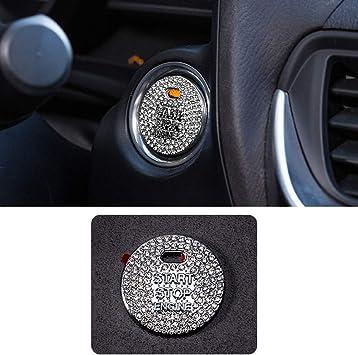 JessicaAlba Car Engine Start Stop Ignition Key Ring Car Auto Interior Decoration For Mazda 2 3 6 CX-5 CX-7 CX-9 Atenza Axela MPV RX-7 RX-8