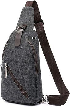 Idand Chest Sling Water Resistance Crossbody Shoulder Bag