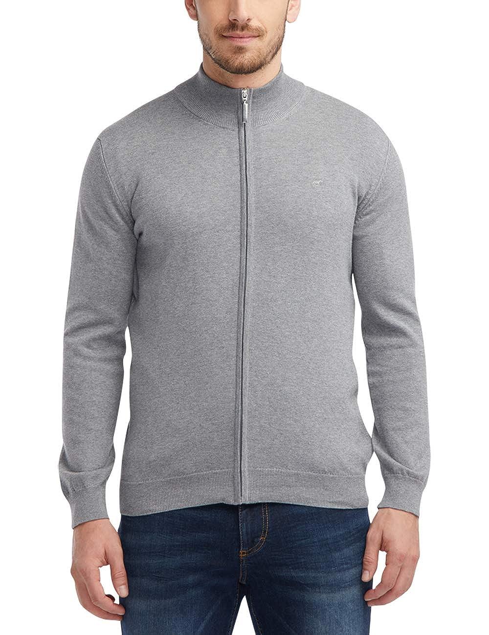 MUSTANG Herren Standard Fit Basic-Cardigan B07L5VGGQZ Strickjacken Sehr gute Farbe