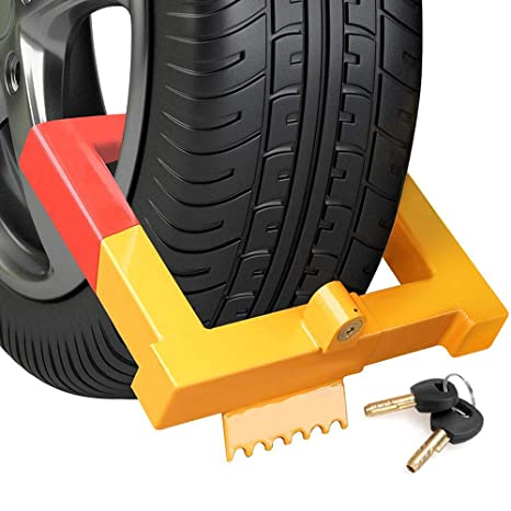 Amazon Com Coocheer Car Wheel Lock Anti Theft Tire Lock Clamp Boot