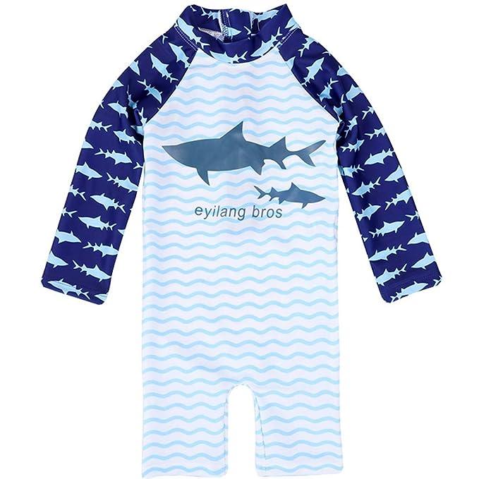 208e7025510d Traje de baño de una Pieza para niño, Traje de baño de Playa de ...