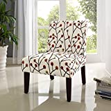 High Quality Teagan Armless Accent Chair Kitchen Furniture Multi
