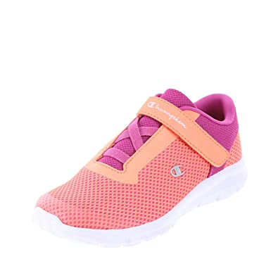 a29662549cc Champion Coral Berry Mesh Girls  Gusto Strap Cross Trainer 2.5 Regular