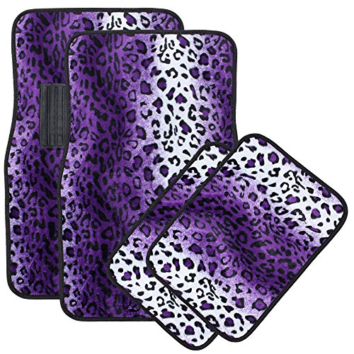 purple car floor mats - 2