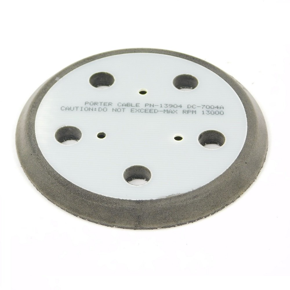 Porter Cable 333/334 Sander Velcro 5'' Backing Pad (5 Holes) # 876691