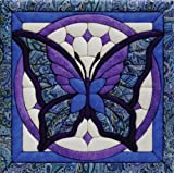 Quilt Magic 12-Inch by 12-Inch Butterfly Kit, 11.75