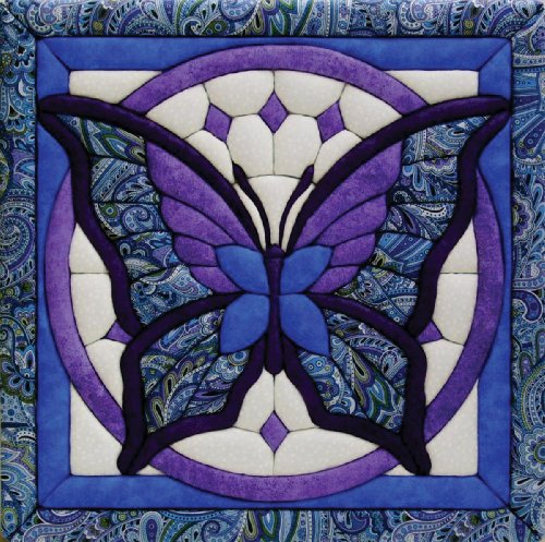 Quilt Magic 12-Inch by 12-Inch Butterfly Kit, 11.75 by Quilt Magic