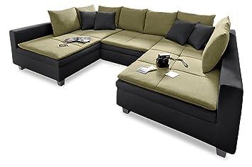 Sofa Couch Trendmanufaktur Wohnlandschaft Pop Mit Schlaffunktion