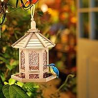 HELEVIA - Comedero para pájaros, casa de Madera