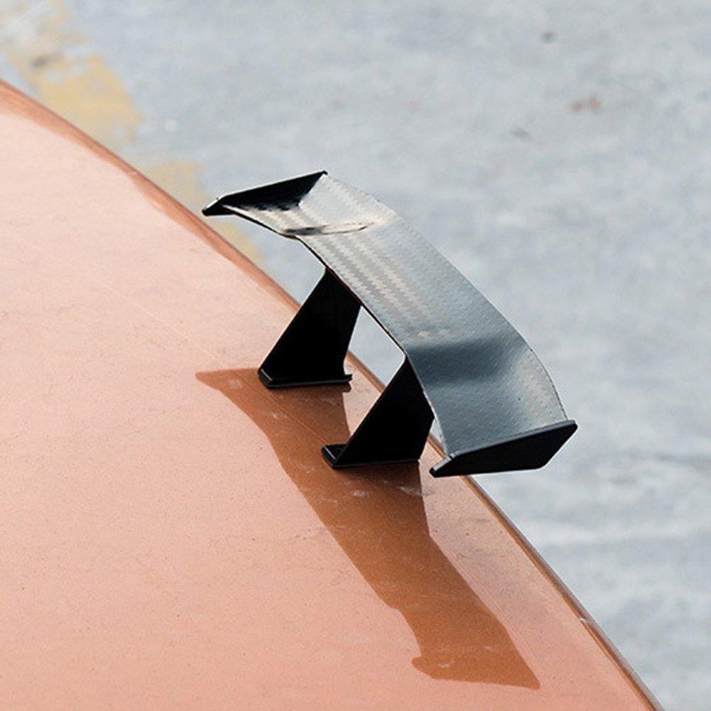 Tuankayuk Universal Mini Spoiler Auto Car Tail Decoration Spoiler Wing Carbon Fiber