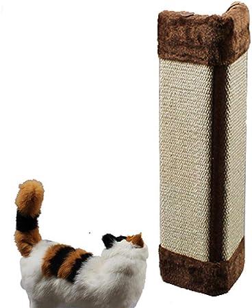 Meilandeng Árboles de Actividades para Gatos Gato rasguño de uña de Gato Gato árbol Gato Rack Gato Gatito Junta Scratch Fuentes sisal Gato Juguetes 50 * 23 * 2.5 cm: Amazon.es: Hogar