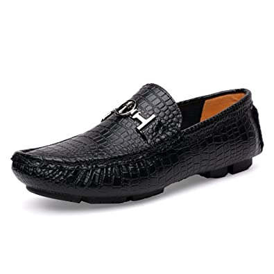 Boy's Men's Metals Snap Classic Penny Loafers Moccasins