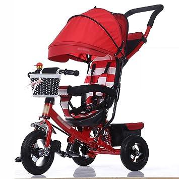 Triciclos Triciclo de niños Carrito de Bebé Plegable ...
