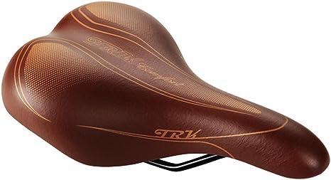 Sillin Retro Clasico Vintage Marron Unisex para Bicicleta Urbana Ciudad 3056: Amazon.es: Deportes y aire libre