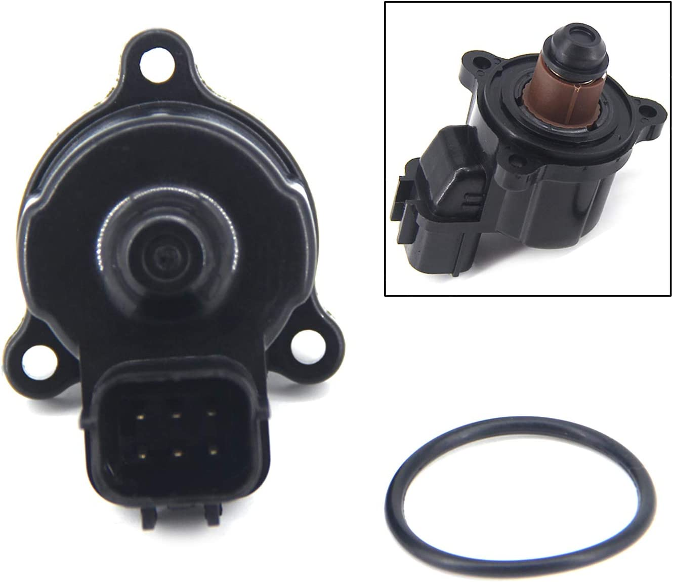 FEXON Idle Air Control Valve Replacement for Chrysler Sebring Dodge Stratus Mitsubishi Eclipse Galant Montero Sport 3.0L 3.5L Replace MD628117 MD628119 MD628174