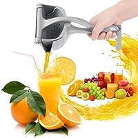 OUDEW Stainless Manual Fruit Juicer Heavy Duty Manual Fruit Juicer Press,Quality...
