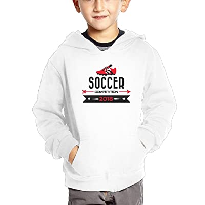 2018 Soccer Competition Tunisia Boy Children Cotton Sweatshirts Cute Pullover Hoodies with Pocket
