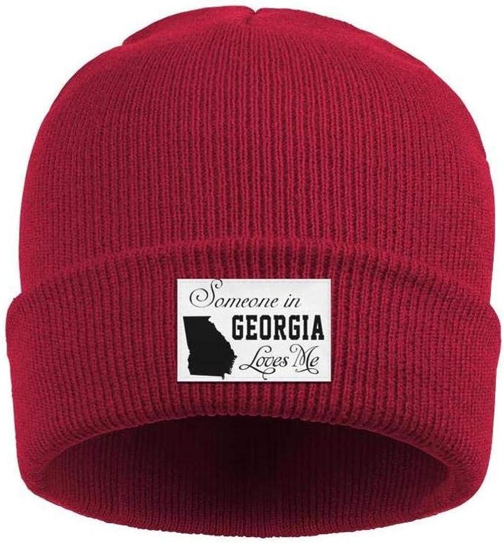 Mens Slouchy Beanie Hat Cashmere Hats Original I Bulldog Georgia Map Multifunction Cap