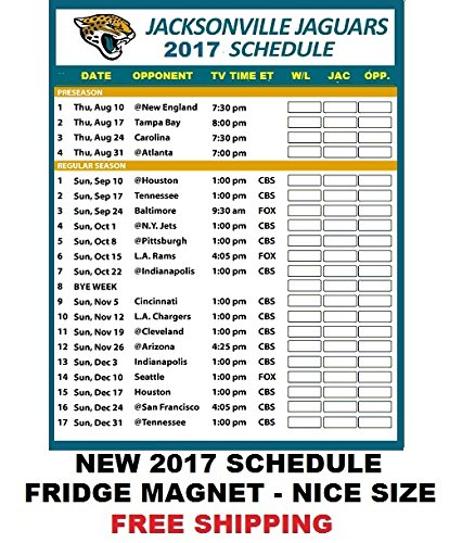 jacksonville jaguars nfl football 2017 schedule and scores. Cars Review. Best American Auto & Cars Review